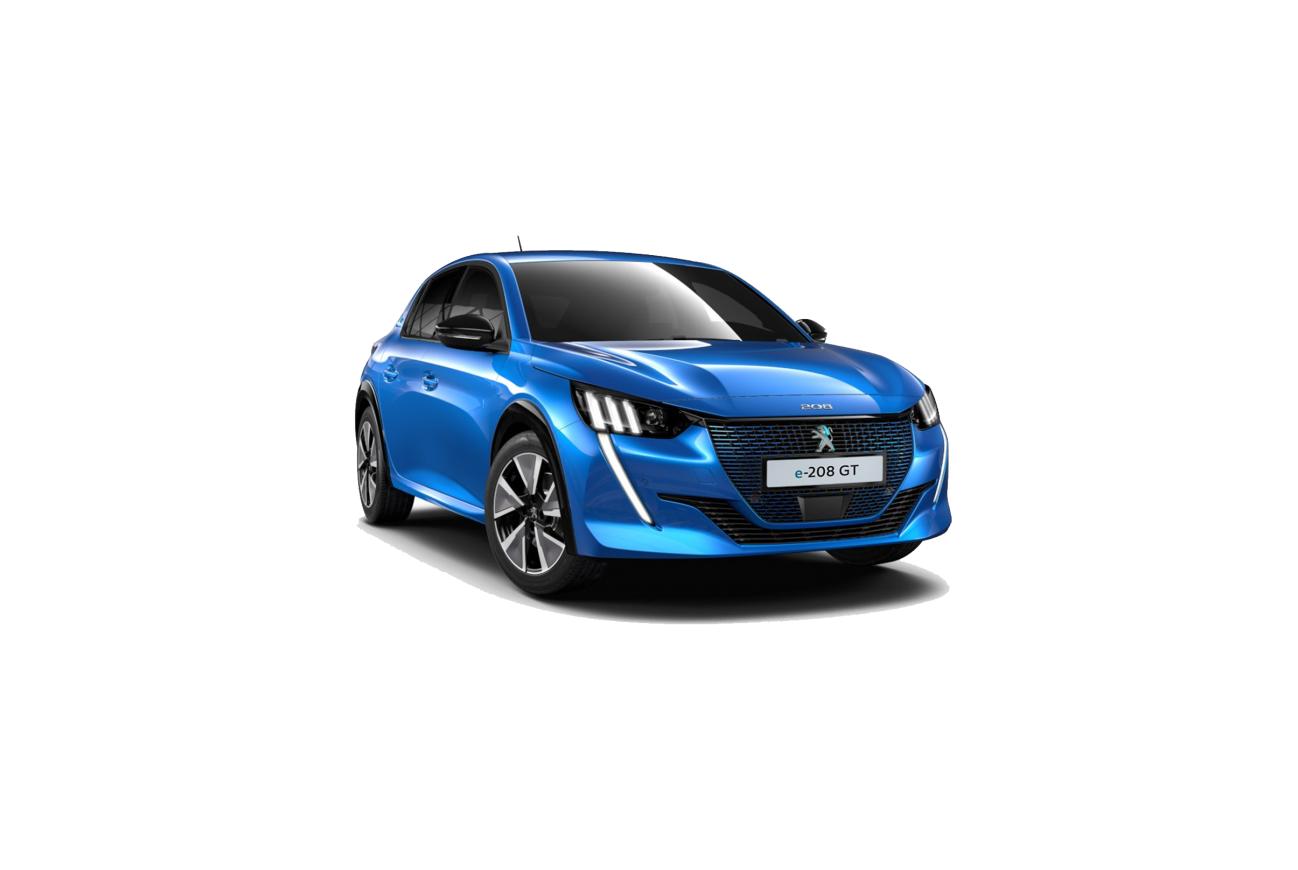 Noleggio auto a lungo termine Peugeot 208 Active-e 136CV Miles