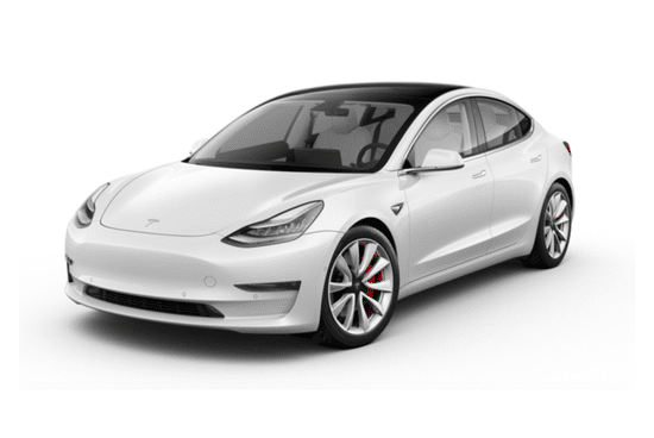 Noleggio auto a lungo termine Tesla Model 3 50 Kwh StandardPlus Rwd